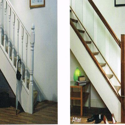 Before & After Stair Cladding System