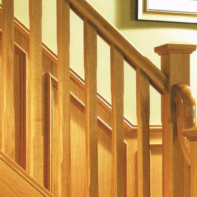 Boyne Chamfer Newel and Spindles