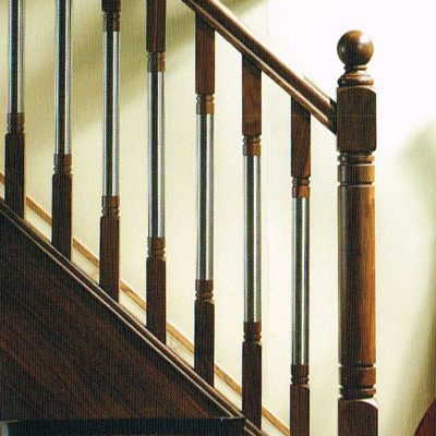 Erne Newel and Wood Metal Spindles