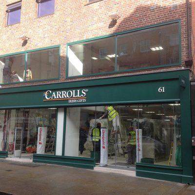 Carrolls Shopfront, Dublin
