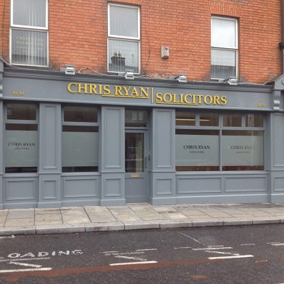 Solicitors Shopfront, Dublin