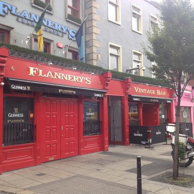 Flannerys Pubfront, Dublin