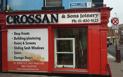 Crossan Shopfronts Showroom