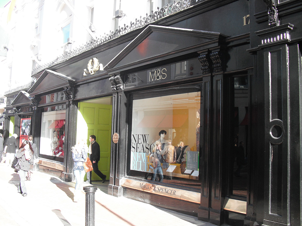 M&S Shopfront, Grafton St.