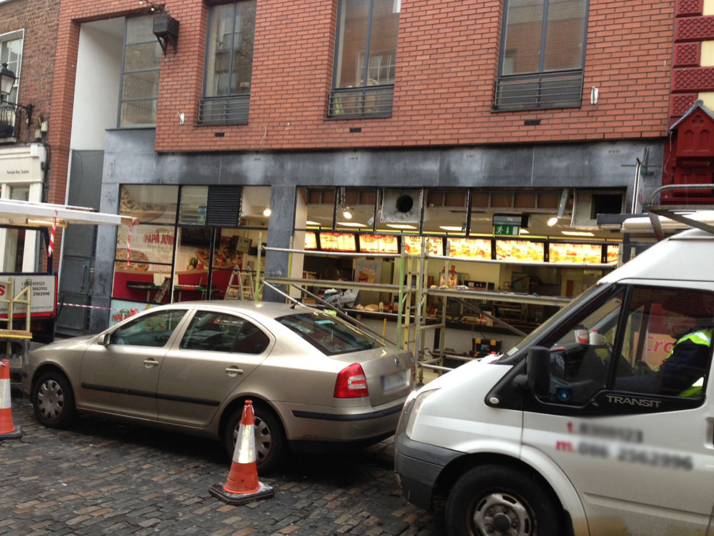 Projects Shop Fronts Dublin