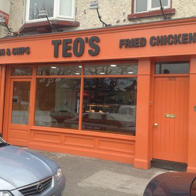 Take-A-Way Shopfront, Dublin