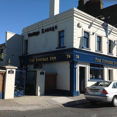 Village Inn Pub Shopfront, Dublin