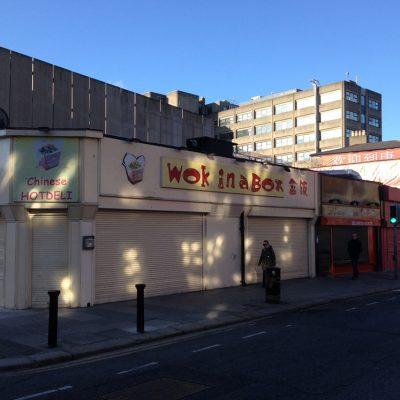 Restaurant Shopfront, Dublin